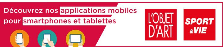 Bannière applications mobiles web